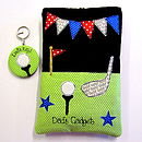 Personalised Golf Keyring & Personalised Golf Kindle Cover