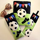 Football Personalised gifts, Kindle, Glasses Case, Bookmark & Keyring