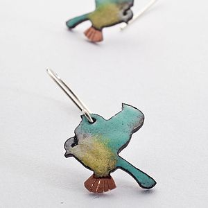 Bluetit Earrings