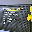 Retro Peg Board