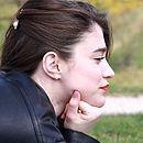 Sterling Silver Freshwater Pearl Earrings - As Worn (White)