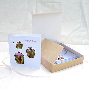 Multipack Of 12 Everyday Cards - all purpose cards, postcards & notelets