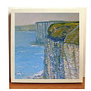 Cliffs & Seagulls Oil Painting