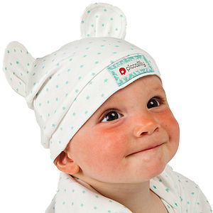 Little Star Hat With Ears - babies' hats