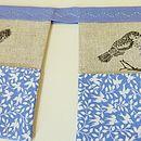 Handmade Bird Inspired Pocket Organiser