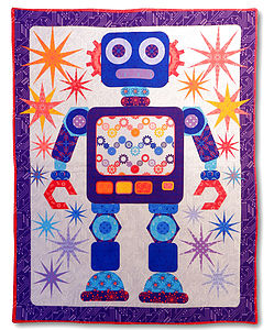Robot Baby Play Mat - children's room accessories