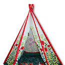Cut out play teepee