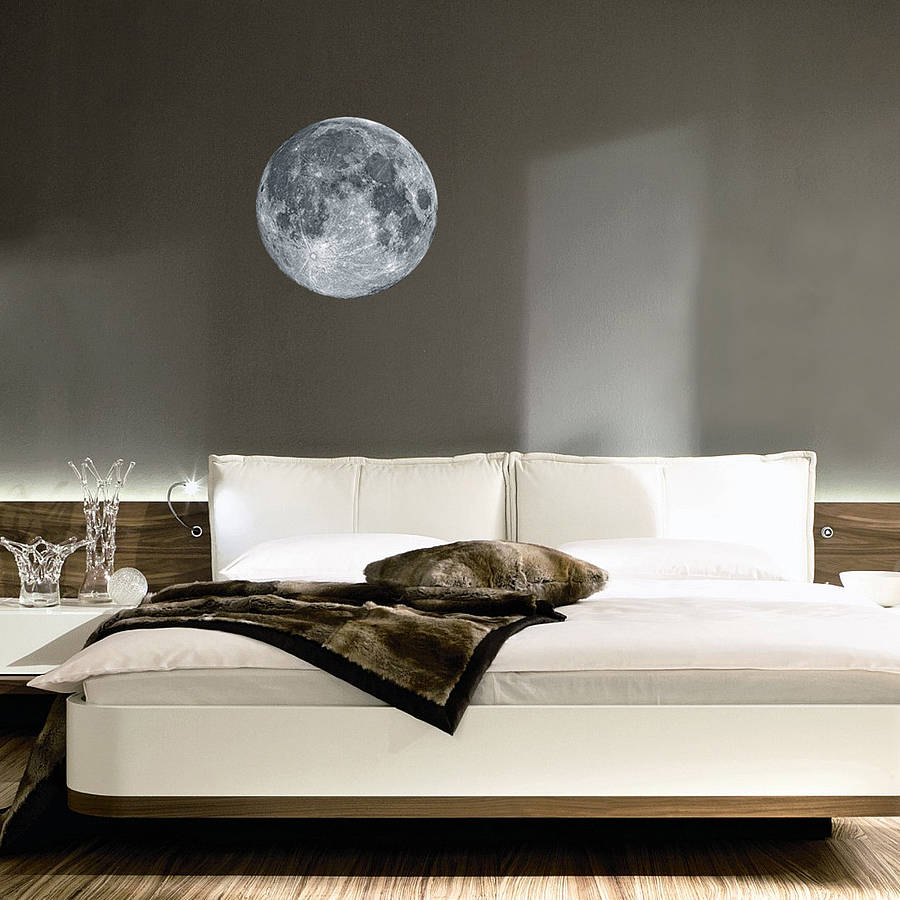 Full Moon Wall Sticker Part 20