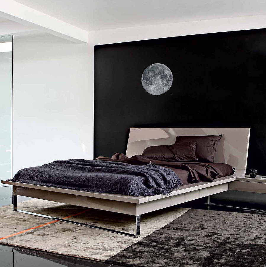 full moon wall sticker by oakdene designs. Black Bedroom Furniture Sets. Home Design Ideas