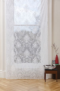 St Andrews Lace Panel - curtains & blinds