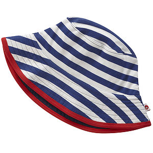 Reversible Jersey Sun Hat - children's clothing