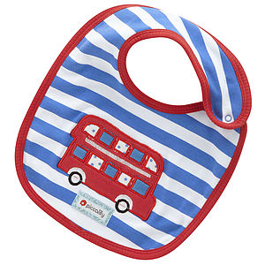 London Bus Classic Bib - bibs