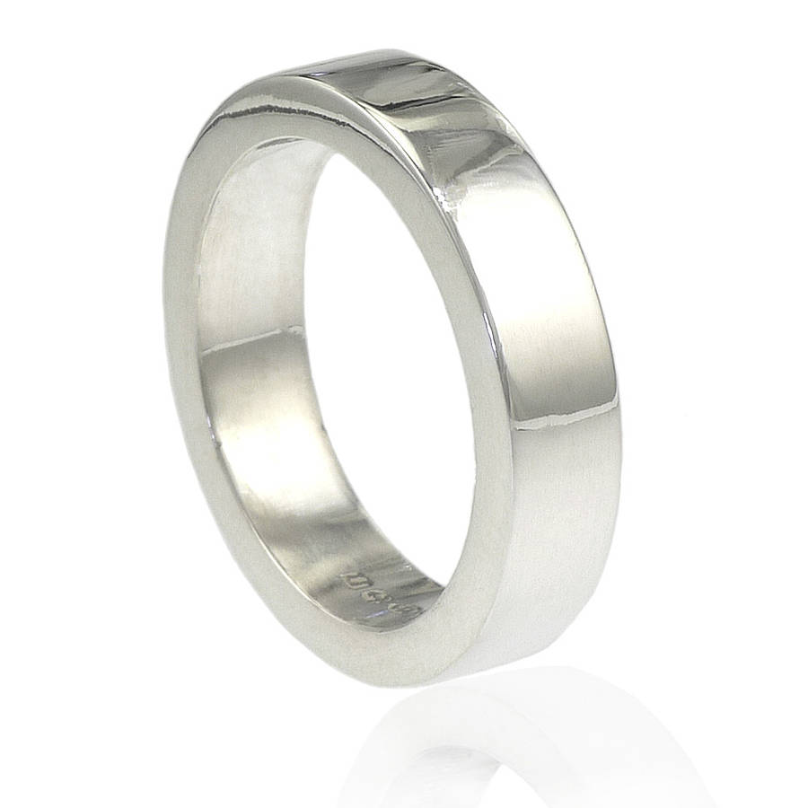 Mens Chunky Sterling Silver Ring