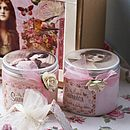 Large Bath And Body Vintage Style Gift Box