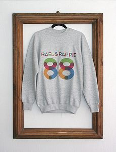 'Rael & Pappie 88' Sweatshirt - jumpers & cardigans