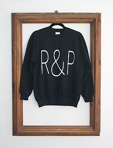 'R&P' Sweatshirt - women's fashion