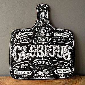 'Cheese Glorious Cheese' Cheeseboard - gifts by interest