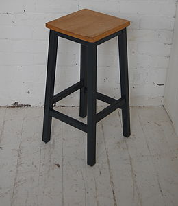 Beech Top Lab Stool - furniture