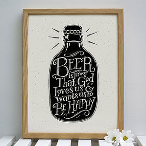 Beer Print - view all sale items