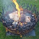 75cm Crown Fire Pit 2