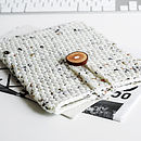 Handmade Chunky Wool Case For IPad