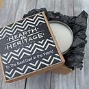 Personalised Fathers Day Candle In A Gift Box