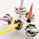 Party Cake Candleholders For Girls