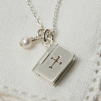 Bible Necklace That Opens