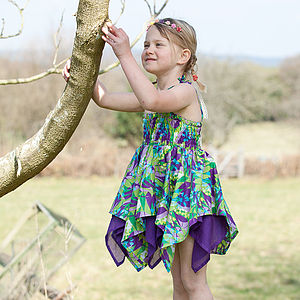 Cotton Summer Fairy Dress - clothing