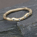 Gold And Diamond Eternity Ring