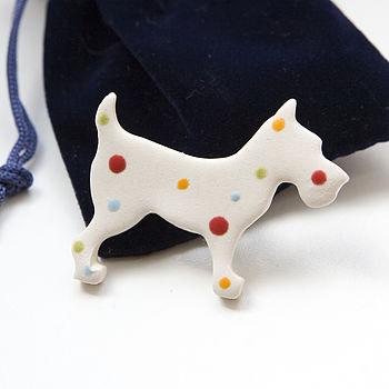 Dog Lovers Gift Brooch
