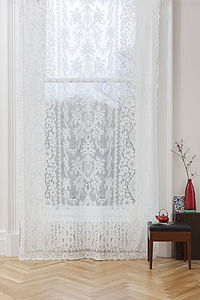 Melrose Lace Panel - curtains & blinds