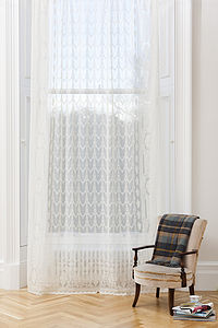 Arran Sheer Window Panel - curtains & blinds