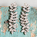 Ivy Crystal Drop Earrings