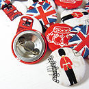 Great British Fabric Badge Set