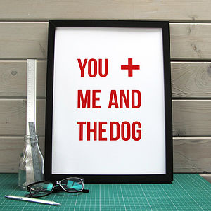 'You And Me And…' Print - pictures, prints & paintings