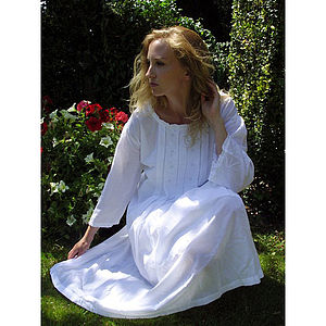 Chiara Cotton Nightdress - lingerie & nightwear