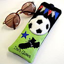 Personalised Football Glasses Cases