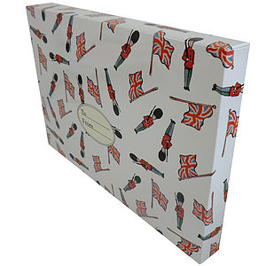 British Soldiers And Flags Gift Box - gift boxes