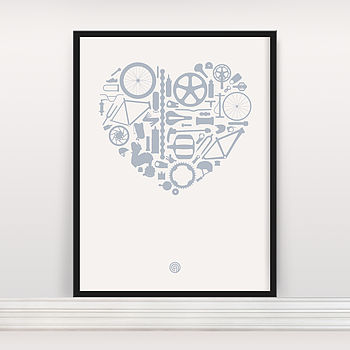 'Bike Love' Screen Print Edition Five