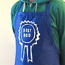 'Best Dad' Apron