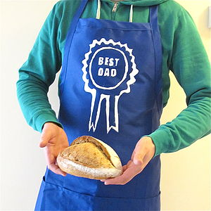 'Best Dad' Father's Day Apron
