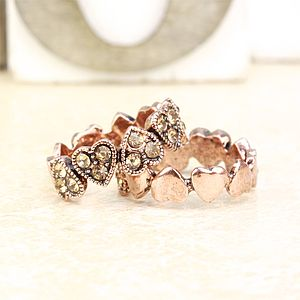 Hearts Ring - rings