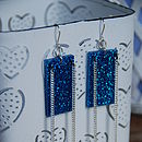 Electric Drop Earrings