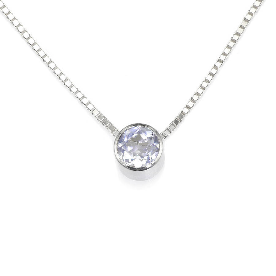 in pendant es necklace baguette sterling silver topaz products deco sapphire white