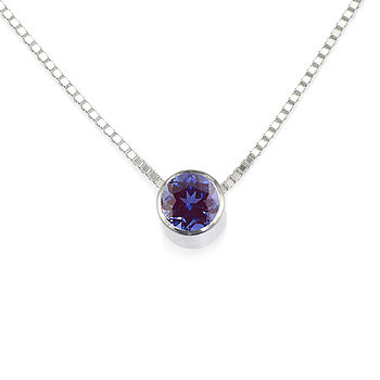 Alexandrite Necklace June Birthstone