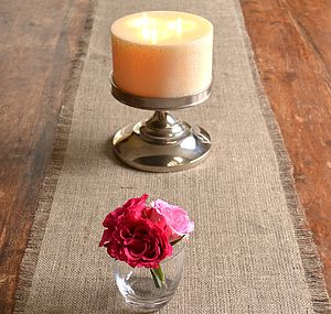 Hessian Table Runner - christmas home accessories