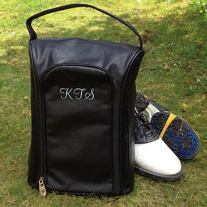 Bespoke Sports Shoe Bag - personalised