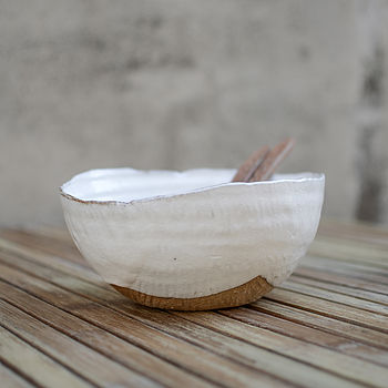 Hand Moulded Salad Bowl