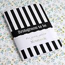 Bridegroom To Be Notebook